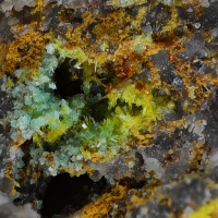 Phosphuranylite & Torbernite