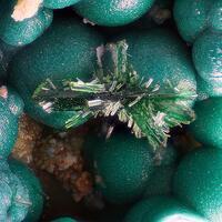 Libethenite Chrysocolla