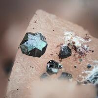 Hematite Baryte Saponite
