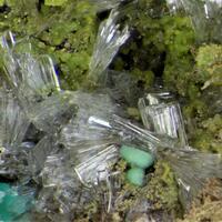 Corkite Mimetite & Hemimorphite