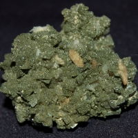 Titanite On Adularia With Chlorite