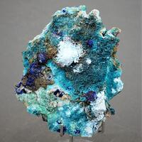 Spangolite & Azurite