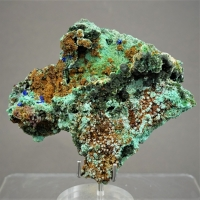 Olivenite & Malachite
