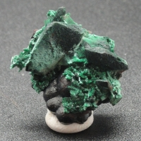 Malachite Psm Azurite With Goethite
