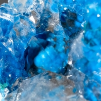 Shattuckite In Quartz