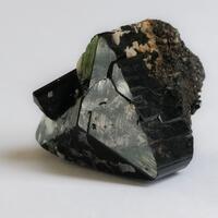 Tourmaline Var Schorl & Hyalite
