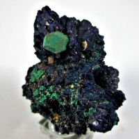 Malachite Psm Cuprite On Azurite