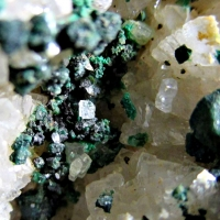 Cuprite & Malachite On Dolomite