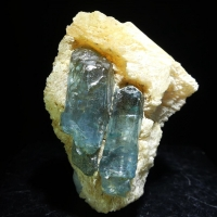 Fluorapatite On Calcite