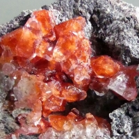 Chalcotrichite In Calcite