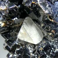 Fluorite & Quartz On Sphalerite