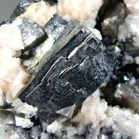 Arsenopyrite & Rhodochrosite On Sphalerite
