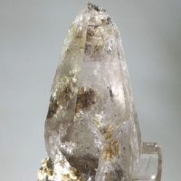 Rock Crystal Var Ticino Habit With Rutile & Muscovite