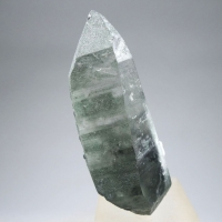 Rock Crystal With Chlorite