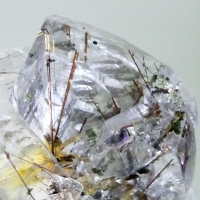 Rock Crystal With Rutile & Clinochlore
