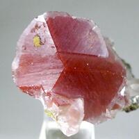 Calcite With Hematite Inclusions & Mottramite