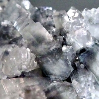Calcite On Galena