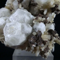 Analcime With Rhodochrosite Natrolite & Aegirine