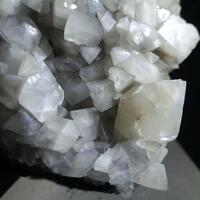 Calcite On Asphaltum Var Impsonite