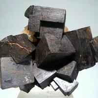 Limonite Psm Pyrite On Quartz