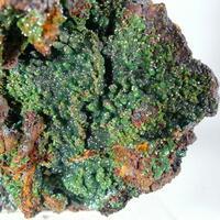 Cuprian Adamite Goethite & Limonite