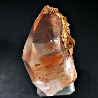 Rock Crystal With Hematite & Dolomite