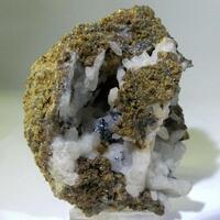 Andradite With Quartz Pyrite & Hematite
