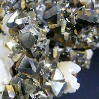 Pyrite With Quartz Calcite & Dolomite