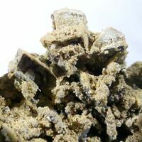 Siderite Psm Calcite & Marcasite Psm Pyrrhotite
