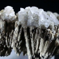 Stibiconite Psm Stibnite With Calcite