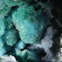 Chrysocolla Malachite & Quartz