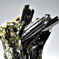 Epidote With Byssolite