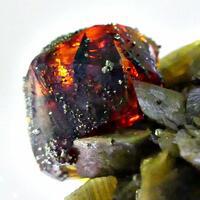 Sphalerite & Chalcopyrite On Siderite