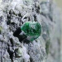 Uvarovite With Cobaltpentlandite