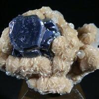 Rhodochrosite Galena & Calcite