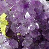 Amethyst With Ferroan Dolomite