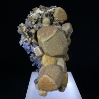 Siderite With Sphalerite Psm Calcite