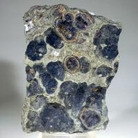 Covellite Pyrite & Chalcopyrite