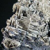Native Silver On Native Arsenic With Quartz