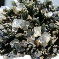 Hedenbergite With Quartz-beta