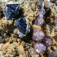 Cassiterite Fluorite & Gilbertite