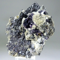 Wolframite Cassiterite & Fluorite