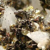 Marcasite On Calcite