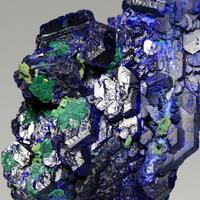 Azurite & Malachite With Bayldonite & Arsentsumebite