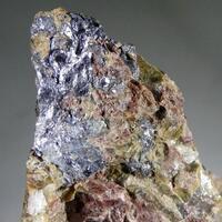 Molybdenite Almandine & Monazite