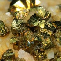 Chalcopyrite & Calcite