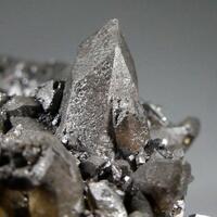 Calcite With Psilomelane & Wad