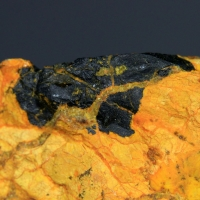 Curite Uranophane & Uraninite Var Pitchblende