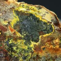 Phurcalite On Uraninite