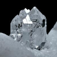 Carrara Diamond & Calcite On Marble